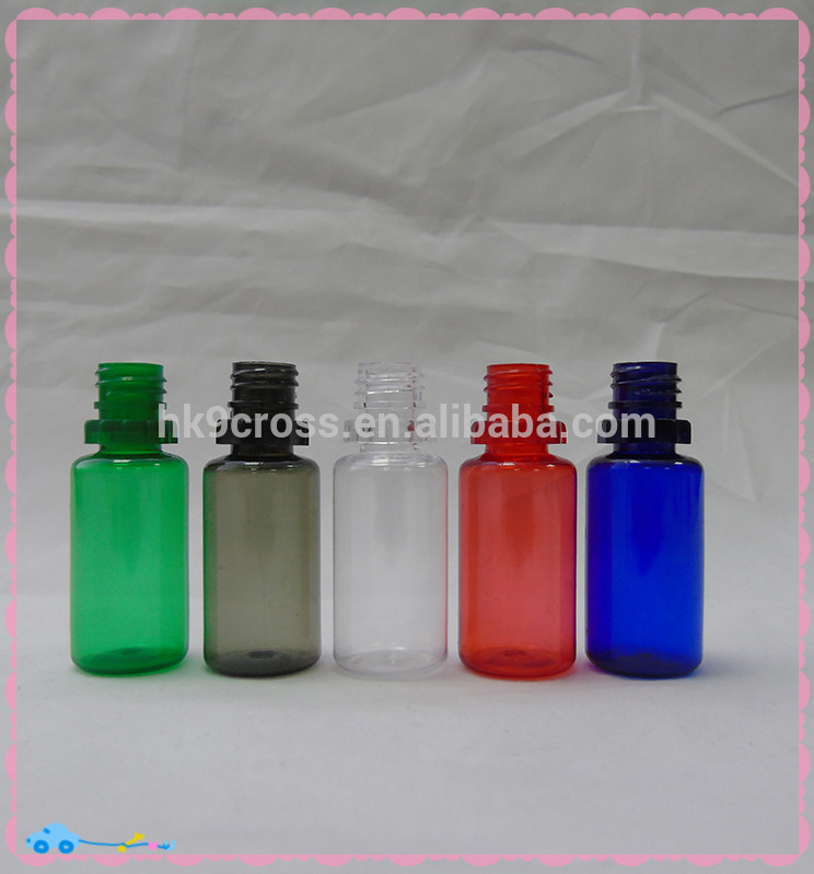 PET colorful ejuice 30ml squeeze plastic unicorn dropper bottle