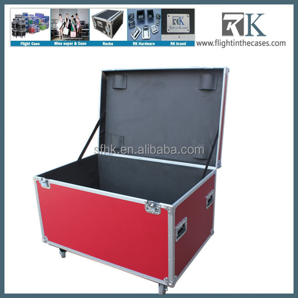 China Large road Aluminum trunk Flight Cases