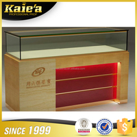 Latest design glass jewelry showcase display/jewellery cabinet/jewelry counter