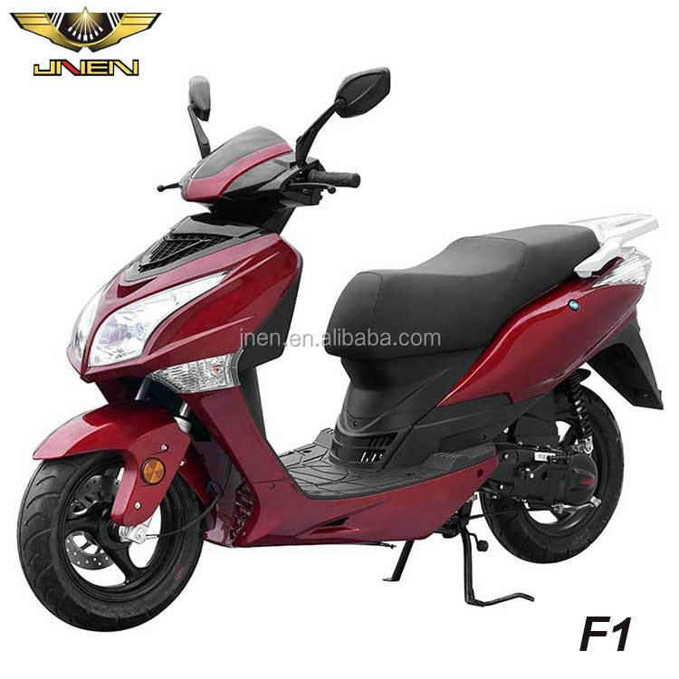 F1 50CC JNEN 2016 Sporty Design 45km/h Economic Gas Scooter High Quality Low Fuel Consumption With EEC DOT