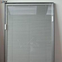 Yilian Aluminum Office Curtains And Blinds With Hollow Glass Inserts Blinds Office Hollow Blinds