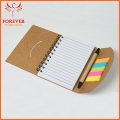 New Design Eco Friendly Sticky Notepad Custom Logo Notebook Sticky With Pen