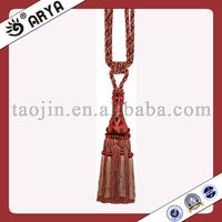 Wholesale Wood Tassel Tiebacks Fringe Lace,French Home Decor