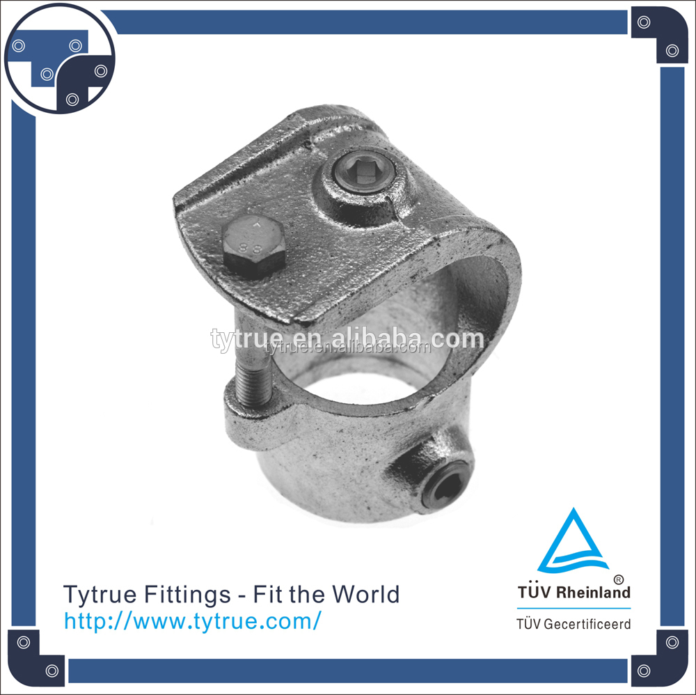 135 Clamp on Tee High quality hot dipped galvanised pipe fittings