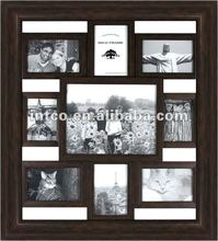 INTCO large wood collage photo frame