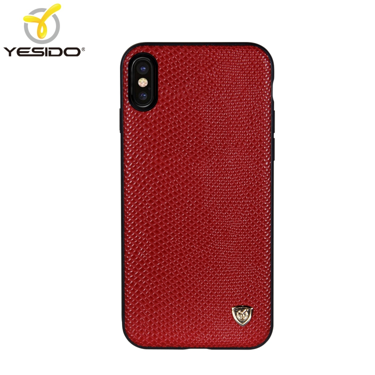 Super luxury phone covers china 3in1 woven Lizard skin leather cell phone case for iphone x red mobil cover leather for iphone x