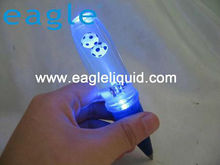 plastic 3D floater plastic pen, light up water ball pen