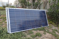 high efficiency polycrystalline 130w solar panel with CE ROHS