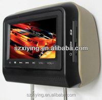 china wholesale car 7 inch Headrest DVD with Sony lens