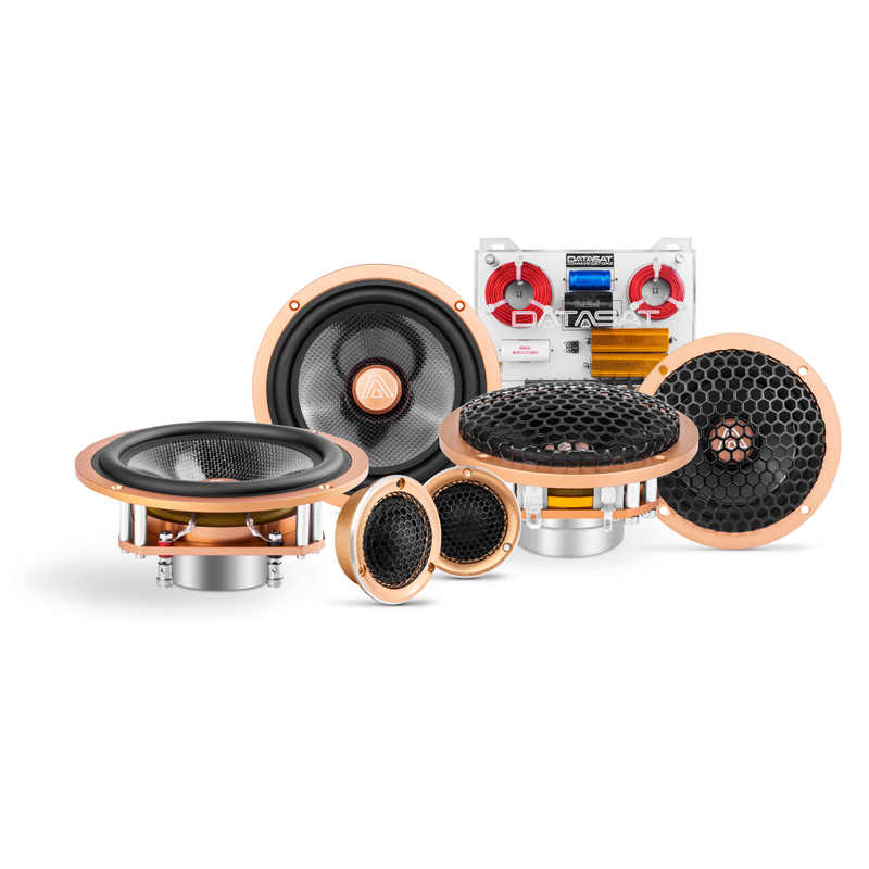 car audio 3-Way Hi-Quality Component speaker D2.D3 top rated 6.5 car speakers
