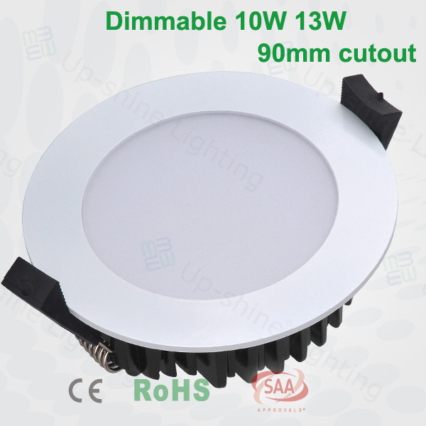 led downlight/10W Dimmable LED Downlight/light fixture of ceiling