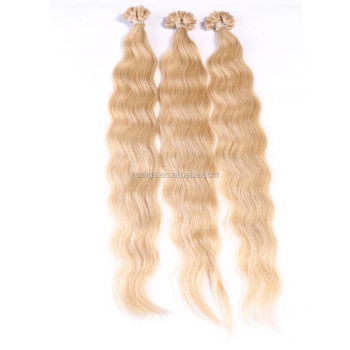 K.S WIG 26'' brazilian virgin tangle free shedding free u tip hair extension 1g per strand