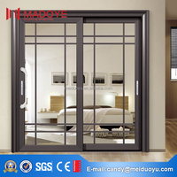 Luxury Design Heavy Duty Aluminium Sliding Door For Veranda