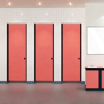 DEBO cheap Price POST-D series phenolic Toilet Partition Door From China Manufacturer