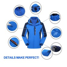 Light Weight Softshell Waterproof Heated Golf Jackets Manufacturer for man