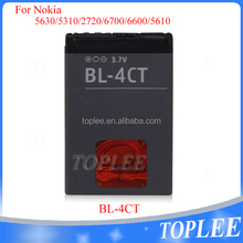 Cell phone battety BL-4CT 3.7V 860mAh Battery For nokia 2720f 3720 5310XM 5630XM 6600f 6700s