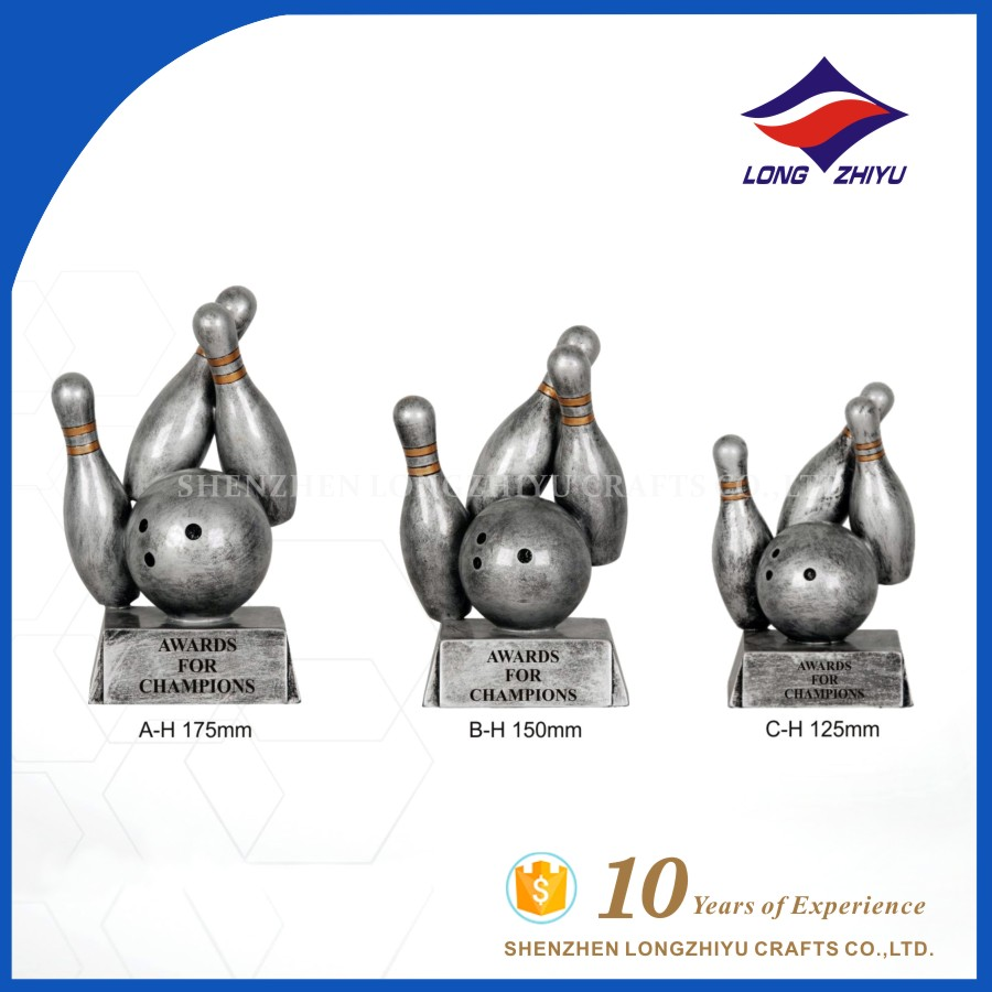 Bowling Trophy Championship Wholesale Trophies And Medals