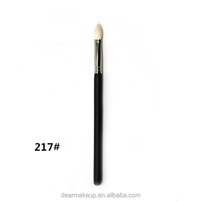 M217 Pro Makeup Oval Shape Eye Blending Brush Shading Brush with Fine Goat Hair