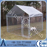 outdoor galvanized chain link lowes dog kennels and runs