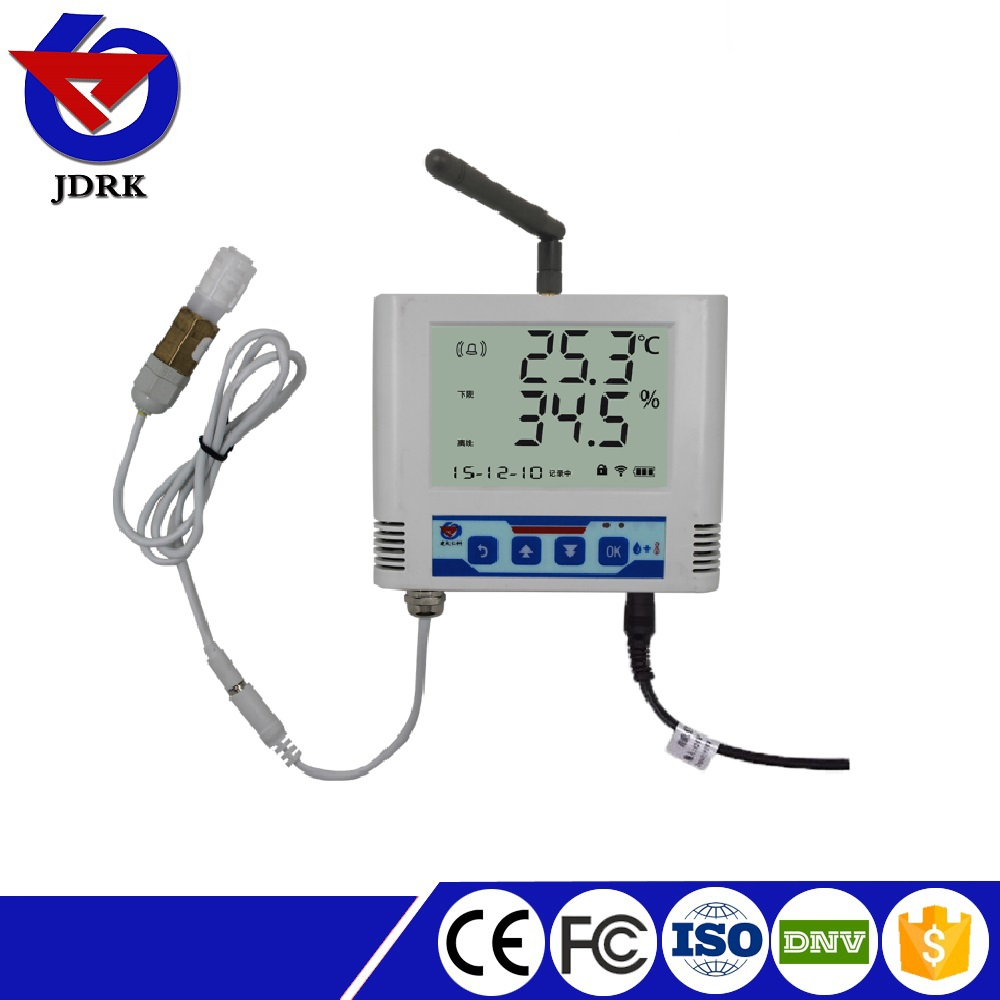2017 RS-WS-DY- 6-6 large LCD 1Km wireless temperature humidity transmitter & controller
