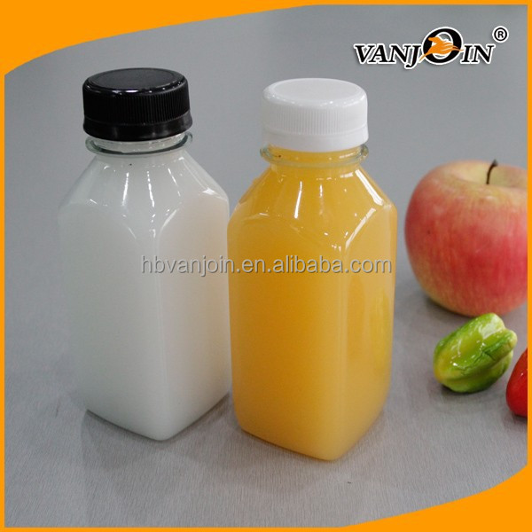 Beverage Industrial Use bulk wholesale mini juice bottles PET
