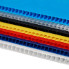 2mm-6mm single corrugated plastic sheet