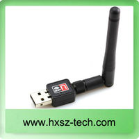 Ralink RT5370 usb wifi adapter high speed with soft AP wifi usb dongle with external 2dBi antenna