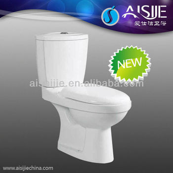 B1102 Hot Design Bathroom Ceramic Washdown Two Piece Water Toilet