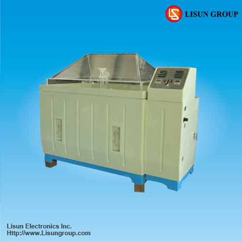 Lisun YWX/Q-010 Salts Spray Test Machine adopts a waterproof structure between the chamber cover and chamber body