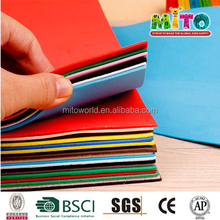Craft kits for kids diy bulk colorful eva foam sticker 3mm