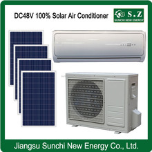 Off grid DC48V 100% best competitive 18000BTU 24000BTU air conditioner & buy solar panel