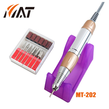 Portable Electric Nail Art Polisher Sets Kits Nail Drill Fast Manicure Pedicure Machine