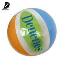 30cm glow led inflatable beach ball