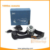 1000m remote vibration dog training collars with USB rechargeable function