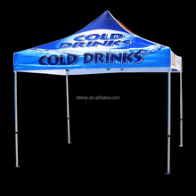 10x10 custom printed flat top tent folding canopy tent for events