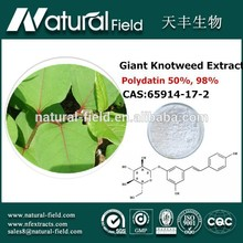 Advanced detecting instruments processing natural giant knotweed extract
