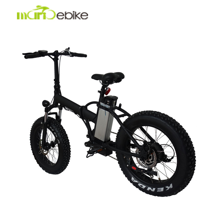 Discount!!! 48V 500W high power 20 inch fat tire <strong>folding</strong> E bicycle /ebike