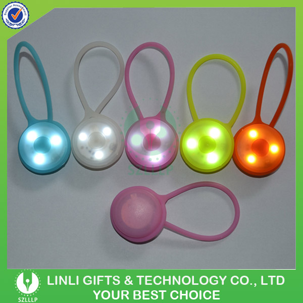 3pcs Silicone Led Safty Bag Light