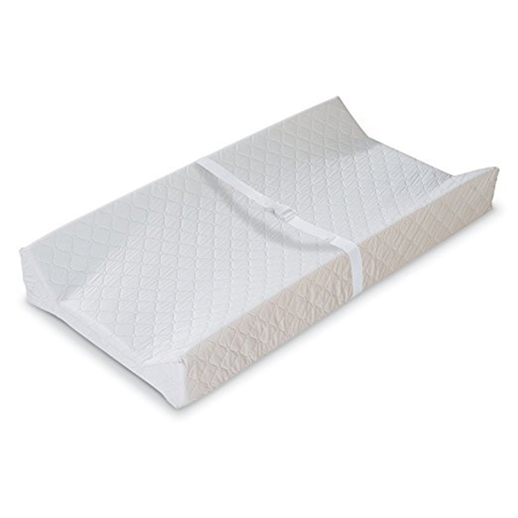 Skin-friendly cheap wholesale hot sale Eco-friendly durable waterproof changing pad liners contoured Infant Changing Pad