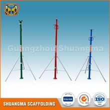 Construction telescopic scaffolding steel prop jack for slab supporting