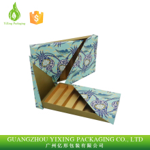 Factory price Fancy paper rectangular handmade chocolate packaging boxes