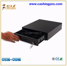 Supermarket Point of Sale System Cash Drawer 15 Inch POS Terminal Thermal Printer