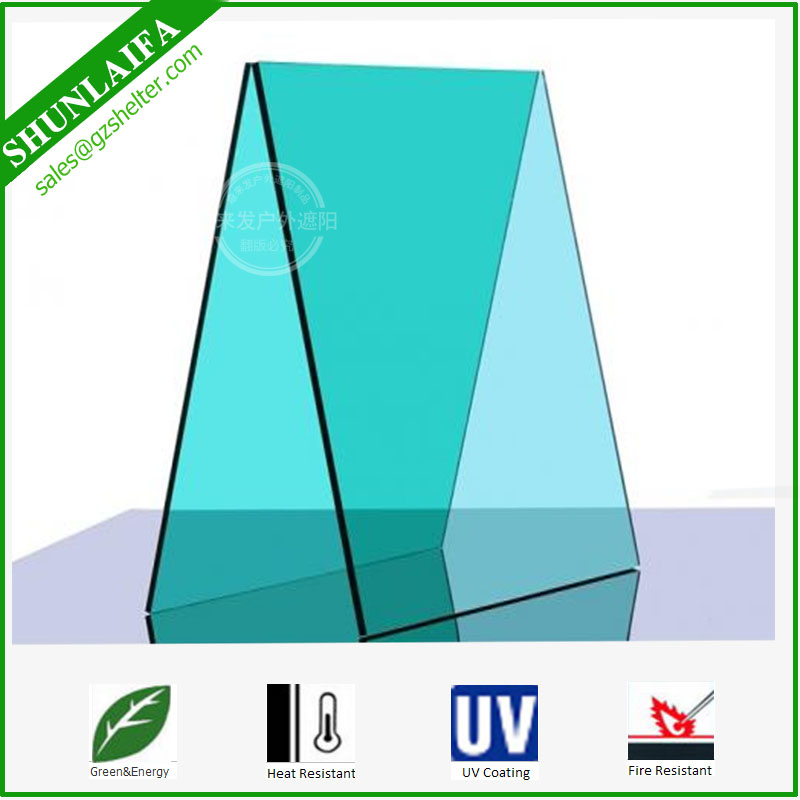Plastic Lexan Polycarbonate Greenhouse Roof Panels PC Solid Plastic Roofing Sheets