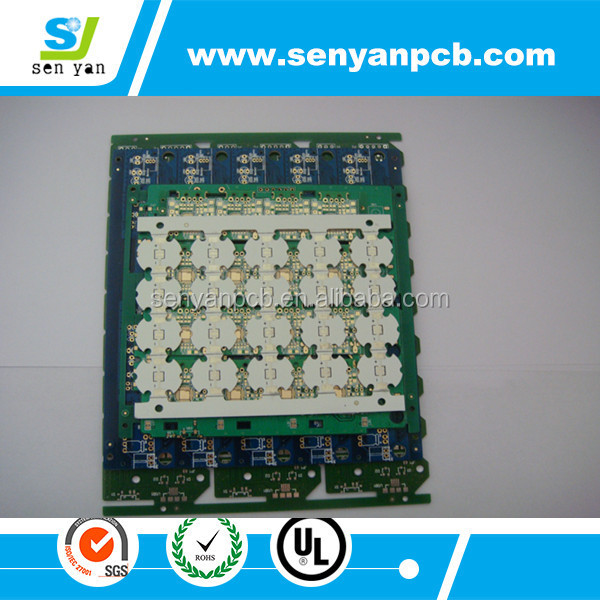 High Frequency PCB RO4350b 0.8mm Thick with Immersion Gold in Shenzhen Factory
