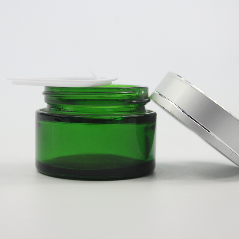 Skin Care <strong>Cream</strong> Use and aluminum Cap Material cosmetic packaging <strong>cream</strong> jars 50g