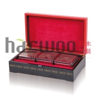 Exquisite wooden tea gift box ,wooden tea bottle case