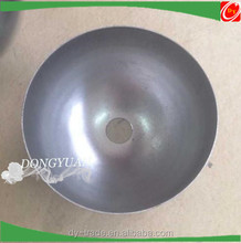 half round steel ball hemisphere for hotel and shopping mall decoration