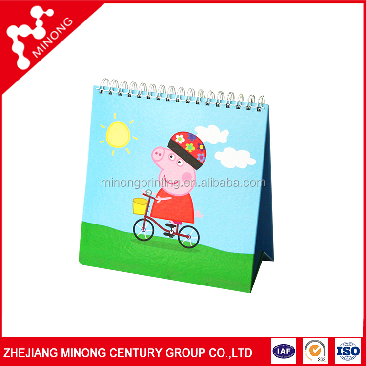 Top sale cheap table calendar design