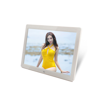 Widescreen 12 inch led digital album photo with SD card slot