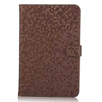 Diamond Pattern Folio Smart Case Cover For Apple Ipad Mini 4